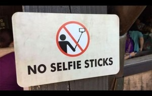 No-selfie-sticks