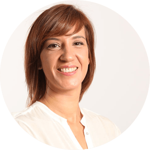 <b>Lucía Garrido</b><br /> Gerente de Marketing y Comunicación