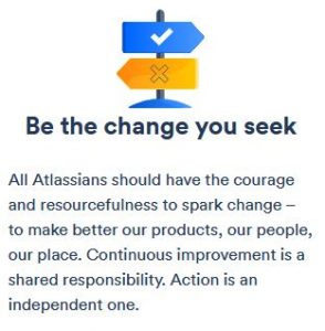 Atlassian BeTheChangeYouSeek